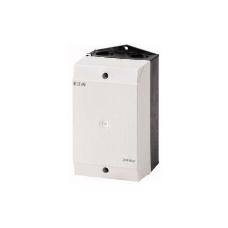 Boîtier vide Eaton 206893 pour plaques de montage (L x l x H) 100 x 100 x 160 mm gris clair (RAL 7035), noir (RAL 9005) 1 pc(s) D74470
