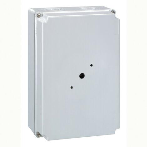 Boîtier vide pour interrupteur sectionneur rotatif composable 6P 25A et 32A gris (022245)