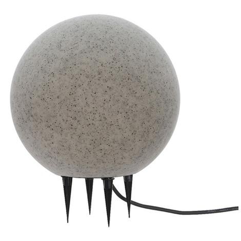 Bola De Led Para Exterior Efecto Piedra E-27 Ø30Cm - NEOFERR
