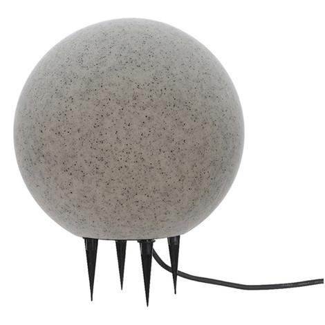 Bola De Led Para Exterior Efecto Piedra E-27 Ø40Cm - NEOFERR