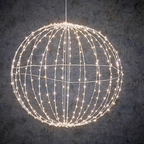 Bola decorativa 400 led 50cm para interior y exterior