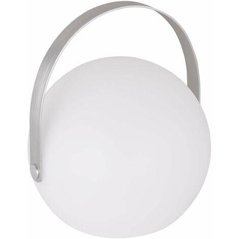 Bola LED RGB lámpara de patio colgante de pie al aire libre batería recargable luz de efecto fuego CONTROL REMOTO Globo 31770