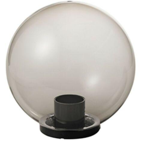 Bola Mareco Humos diámetro 250 E27 para poste de 60 mm 1080201F
