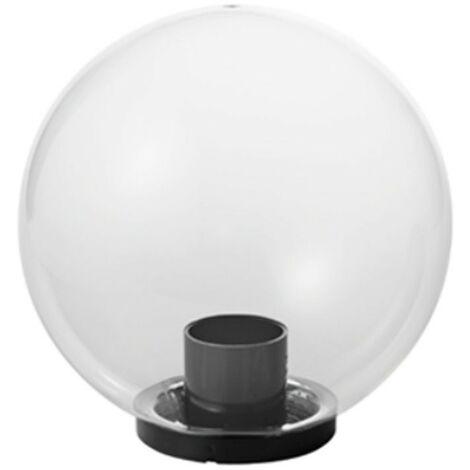 Bola Mareco Transparente diámetro 250 E27 para poste de 60 mm 1080201T