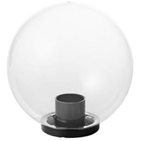 Bola Mareco Transparente diámetro 300 E27 para poste de 60 mm 1080301T