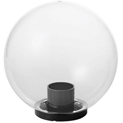 Bola Mareco Transparente diámetro 400 E27 para poste de 60 mm 1080501T
