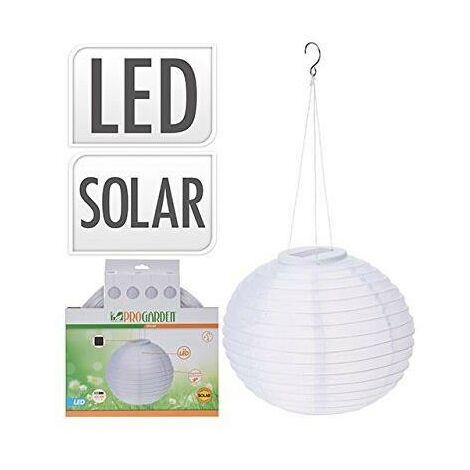 Bola solar LED decorativa de papel