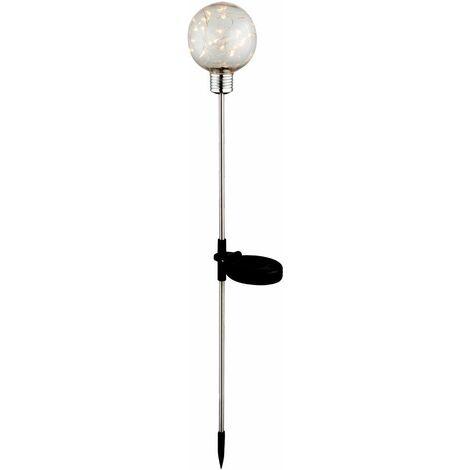 Bola solar LED lámpara enchufable jardín iluminación exterior luces de hadas luces de camino  Globo 33802-12