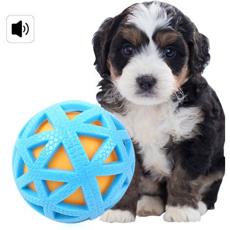 Bolas de mascotas Perros Juguete del Chew del Squeaker chirriante sonido mordedura al dientes de los perros Juguetes Interactiva de Aprendizaje juguete divertido del gato del perro Juguetes