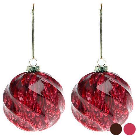 Bolas de Navidad (2 pcs) 112537 | Rojo