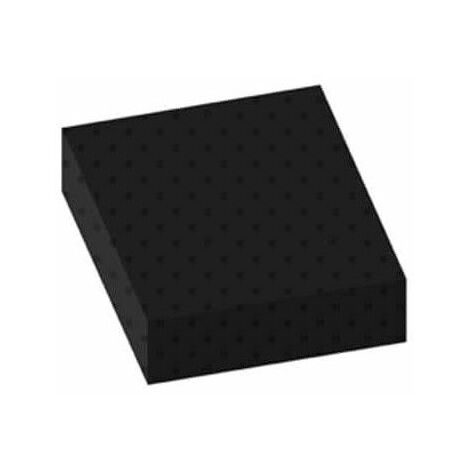 Bolitas de alfombras estándar de construcción negro espesor de 3 mm 100x100cm