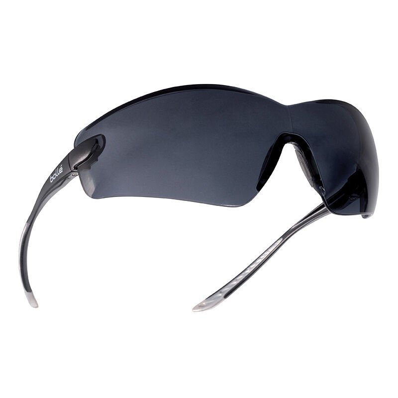 Image of Bolle Cobra Safety Glasses - Smoke - Safety Glasses