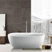 Bologna 1415mm x 750mm Oval Modern Freestanding Bath