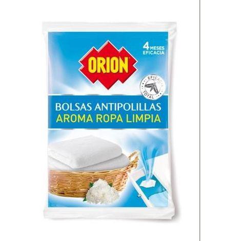 BOLSA ANTIPOLILLAS ROPA LIMPIA 20UD. 31529