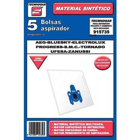 Bolsa Aspirador 5 U. Aeg-elect - TECNHOGAR - 915735