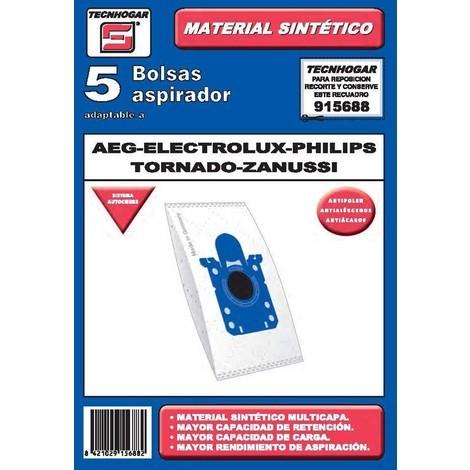 Bolsa Aspirador 5 U. Aeg-phili - TECNHOGAR - 915688