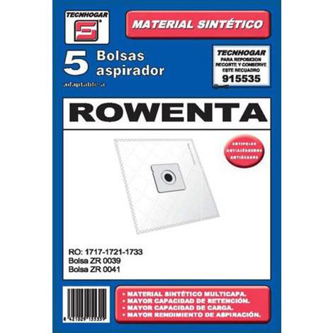 Bolsa Aspirador 5 Uds Rowenta - TECNHOGAR - 915509