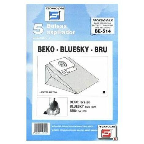 Bolsa Aspirador Papel Beko Bks Thogar 5 Pz 910514