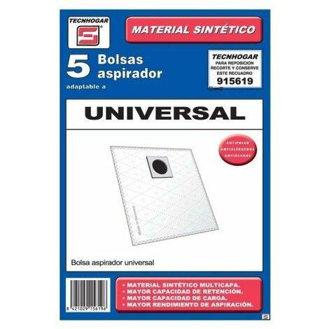 Bolsa Aspirador Papel Universal Thogar 5 Pz 915619