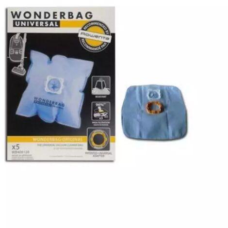 Bolsa aspirador Standard WONDERBAG 5 UNIDADES 3221613010607