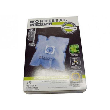 Bolsa aspirador Standard WONDERBAG 5 UNIDADES 3221613010904