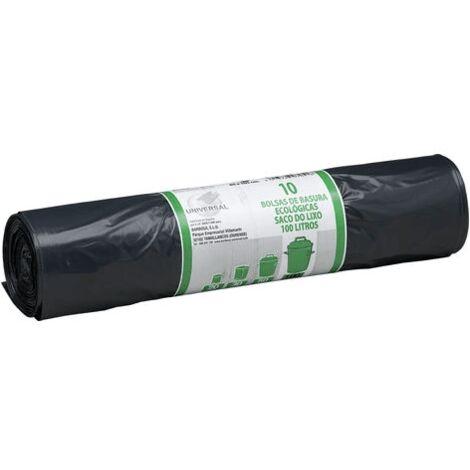 Bolsa basura universal 85 x 105 cm (10 uds) 100 Litros Negro