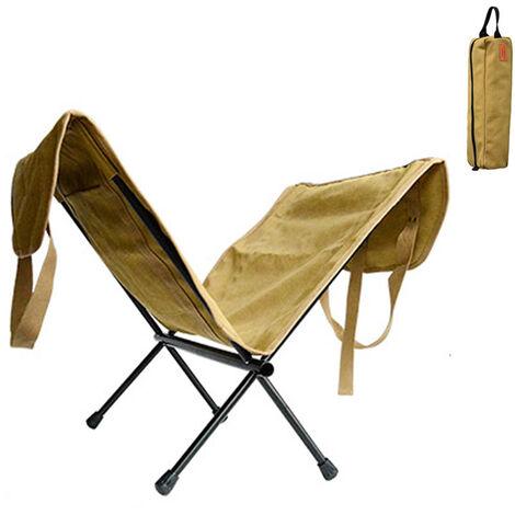 "main image of ""Bolsa de almacenamiento de lena Soporte de lena para chimenea Estante de lena de lona Bolsa de madera duradera Soporte grande para lena con asa para acampar"""