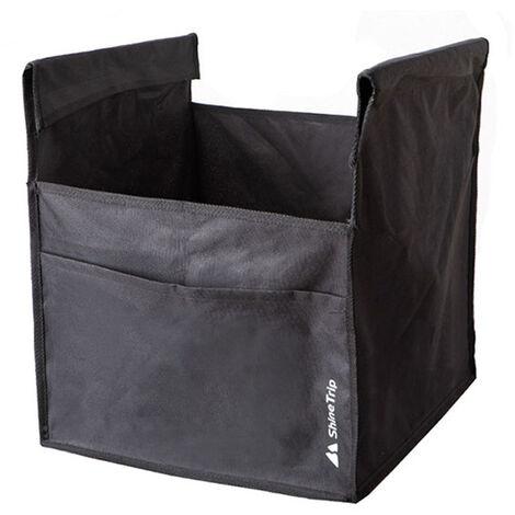 Bolsa de almacenamiento Mesa plegable de aluminio al aire libre camping al aire libre Accesorios de alta resistencia de tela Oxford gran espacio de almacenamiento portatil diversa impermeable almacenamiento bolsa de bolsa de red, Grande