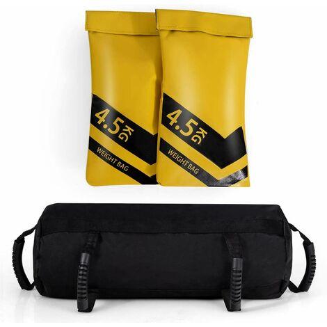 Bolsa de Arena para Entrenamiento Saco de Arena Sandbag Saco Peso para Gimnasio Hogar Fitness