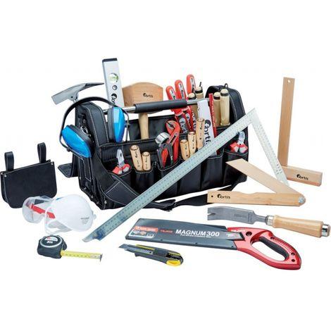 Bolsa de herramientas para aprendiz carpinteros Fortis