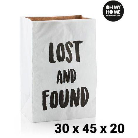 Bolsa de Papel Mediana Oh My Home (30 x 45 x 20 cm)