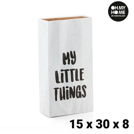 Bolsa de Papel Pequeña Oh My Home (15 x 30 x 8 cm)