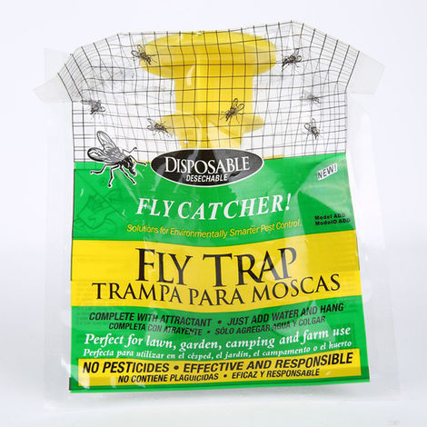 Bolsa de trampa para moscas colgante, bolsa de trampa para moscas