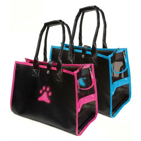 Bolsa de transporte de trapecio con pata para perros y gatos Record