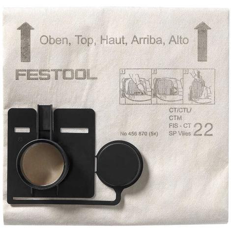 Bolsa filtrante FIS-CT 33 SP VLIES/5 Festool