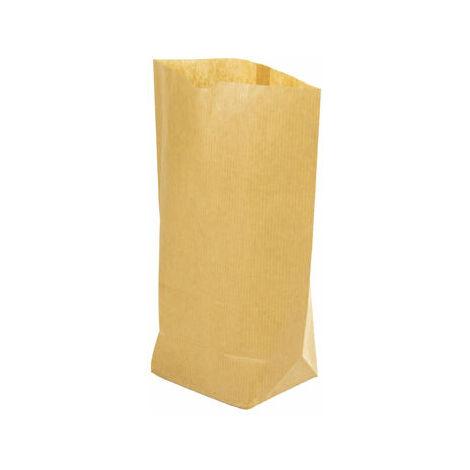 Bolsa Papel de 1/2kg Marrón Kraft con Base Hexagonal 170x220mm 1000 Unidades