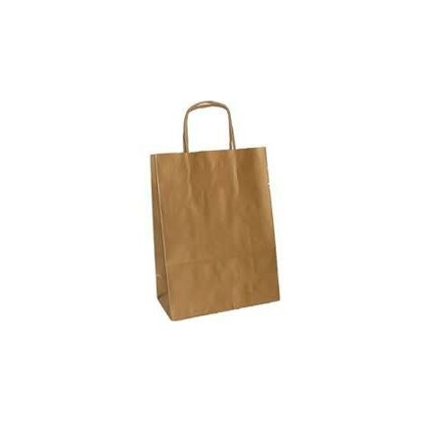 Bolsa papel kraft marron 28 X 33 -Caja 200 Ud-