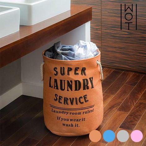 Bolsa para Ropa Sucia Super Laundry Service Wagon Trend