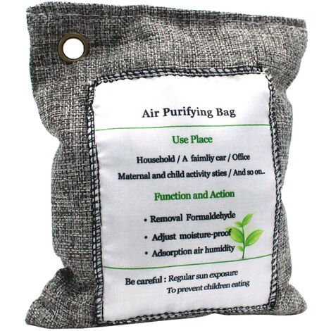 Bolsa purificadora de aire Bolsa de carbon, eliminador de olores, 200 g