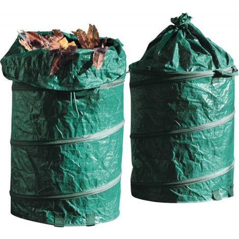Bolsa residuos jardín POP UP 160 l
