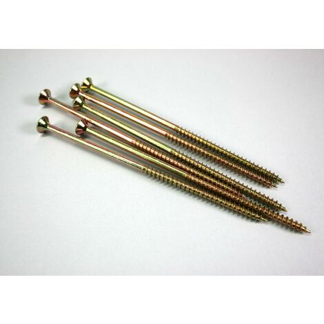 Bolsa Tirafondo Onduline para madera - 150 x 3,8 mm x 100 Ud - Acero