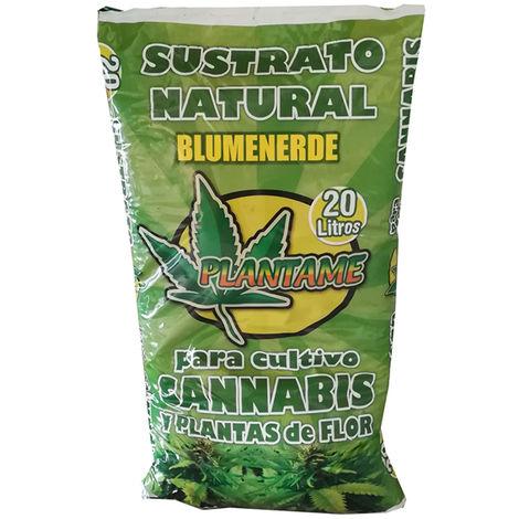 Bolsa Turba Sustrato Cannabis 20l.