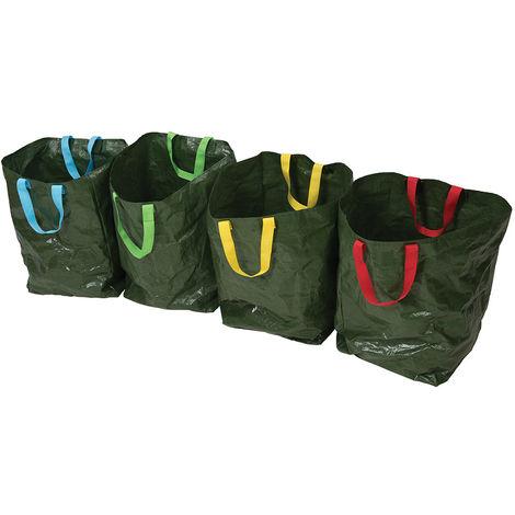 Bolsas de basura para reciclaje, 4 pzas 400 x 320 x 320 mm - NEOFERR