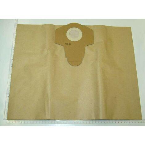 Bolsas de papel 25L 5und Einhell
