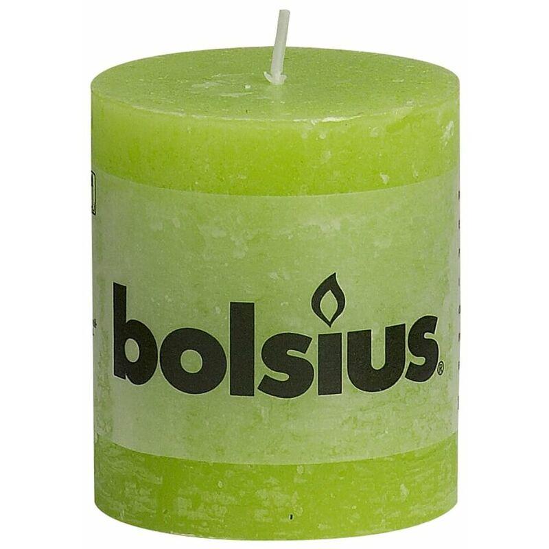 Bolsius 103614600174/Bougie Pilier Cire de Paraffine Vert Citron
