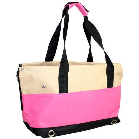 Bolso de transporte para perros y gatos Yatek, con 4 bolsillos laterales y protección anti-salto, dos colores disponibles