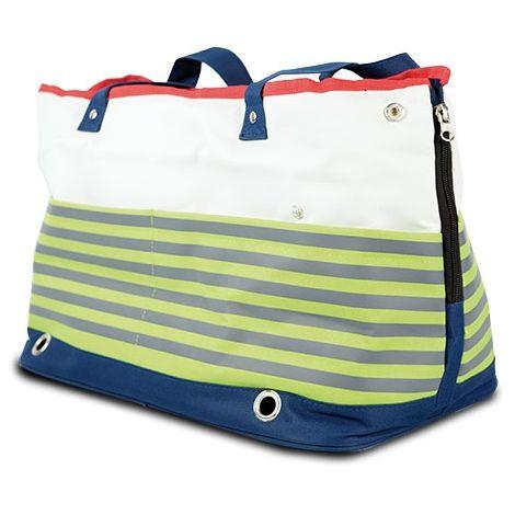 """Bolso semirrígido """"Sailor"""", dispone de 4 bolsillos amplios, para perros y gatos"""