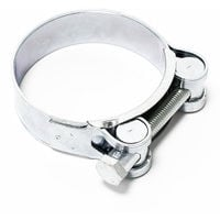Bolt grip hose clamp W1 galvanised steel width 24mm clamping range 2.91-3.11 inch (74-79mm)