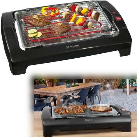 "BOMANN Elektro-Grill Tisch-Barbecue-Grill 2000 Watt Cool-Touch BQ 1240-""42201297"""
