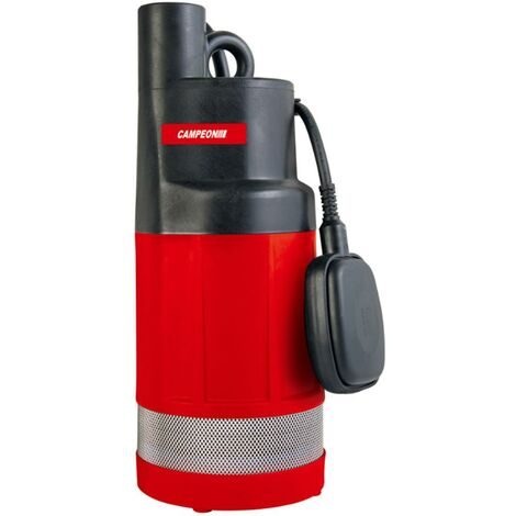 Bomba Agua Sumergible Limpias Altura 24Mt 750W-95L/H Campeon